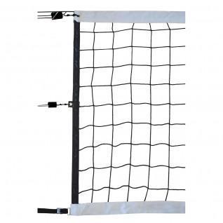 Volleyball-Wettkampfnetz 9,50x1m pp geflochten 4mm Einzelmasche 100 Stahlseil Sporti France