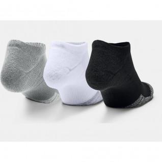 Packung mit 3 Paar Under Armour HeatGear® No Show Socken