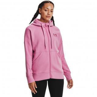 Frauen unter Armour mit Kapuze Rival Fleece Full Zip Jacke