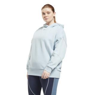 Sweatshirt große Größe Übergröße Frau Reebok Basic