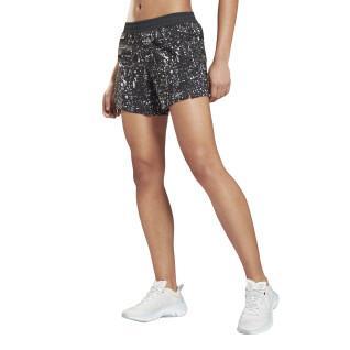 Bedruckte Damen-Shorts Reebok Workout Ready Run