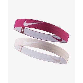 Satz mit 2 Stirnbändern Nike Pouch