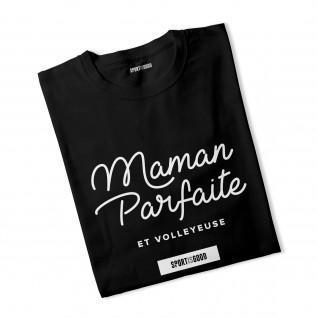 Perfekte Mama Frau T-shirt und Volleyball