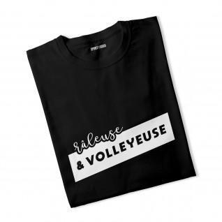 T-Shirt Frau Grumpy und Volleyballspieler