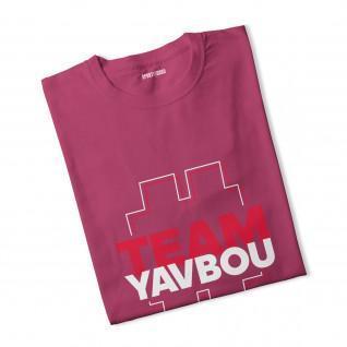 Mädchen-T-Shirt #TeamYavbou
