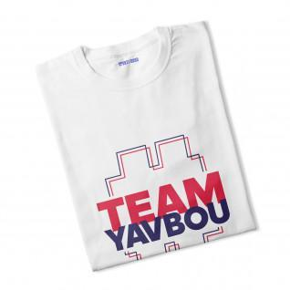 T-Shirt Junge #TeamYavbou