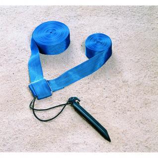 Beach Volley Blau Begrenzungsset